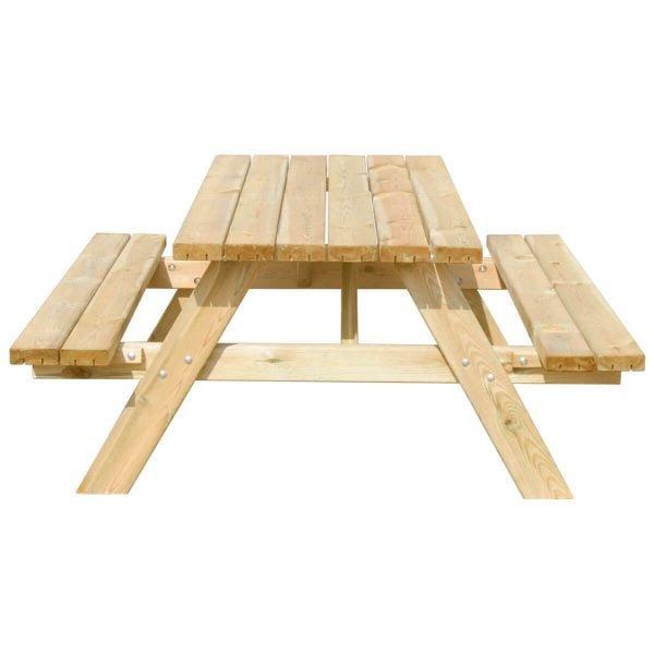 Picknicktafel Deluxe 150 recht voorstaand