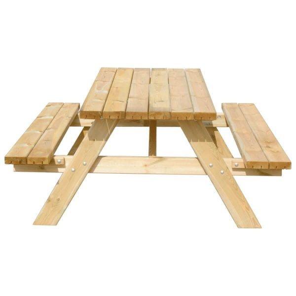 Picknicktafel Deluxe 180 recht voorstaand