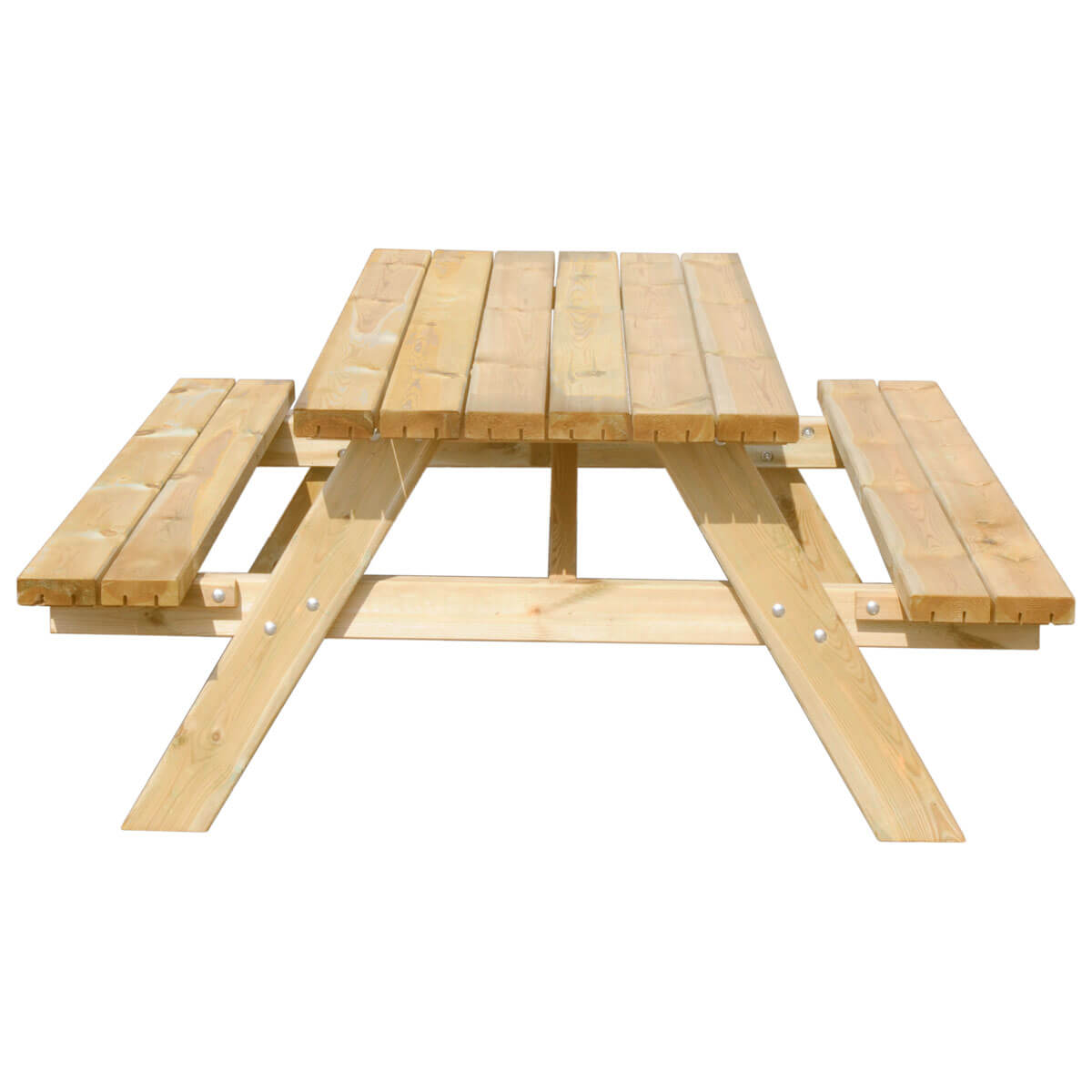 Picknicktafel Goede Kwaliteit.Picknicktafel Deluxe 180 X 70 Cm