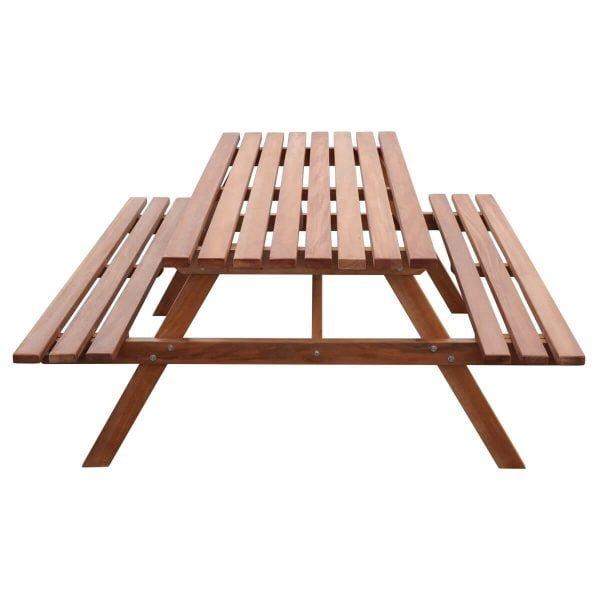 Picknicktafel Hardhout Elite 160 recht voorstaand