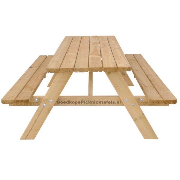 Picknicktafel 210 vooraanzicht